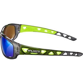 Rudy Project Airgrip - Lunettes cyclisme - gris/vert